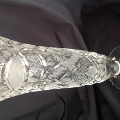 Vaza cristal gravata