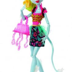SUPER Papusa Monster High Lagoonafire cu JURNAL si accesorii - Mattel