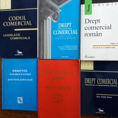 Lot de 6 carti Drept Comercial / C66P - Carte Drept comercial