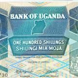 UGANDA 100 shillings 1988 UNC P-31b