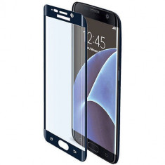 Folie protectie Celly GLASS591BK Sticla Securizata Full Body 9H pentru Samsung Galaxy S7 Edge - Folie protectie tableta
