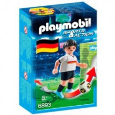 Fotbalist German Playmobil - Vehicul