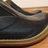 Vand pantofi piele - Pantofi barbat, Marime: 42, Culoare: Albastru