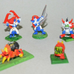 Lot figurine  miniaturi WARHAMMER ORCS AND GOBLINS ARMY (1)