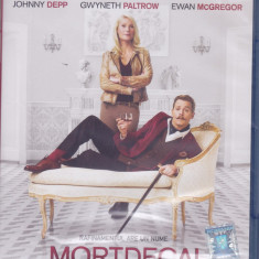 Film Blu Ray : Mortdecai ( sigilat, original - subtitrare in lb.romana )