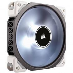 Ventilator pentru carcasa Corsair Air Series ML120 Magnetic Levitation LED White 120mm - Cooler PC