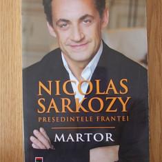 NICOLAS SARKOZY- PRESEDINTELE FRANTEI - Biografie