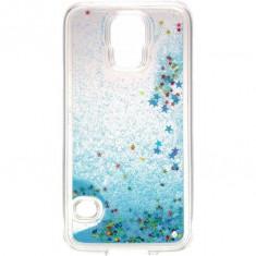 Capac de protectie Tellur Glitter pentru Samsung Galaxy S5 Blue