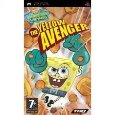 Joc consola THQ SpongeBob SquarePants The Yellow Avenger PSP - Jocuri PSP Thq, Actiune, 12+, Single player
