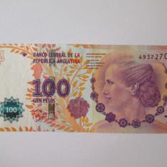 Argentina 100 Pesos 2012 comemorativi Eva Peron - bancnota america