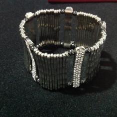 Bratara Energetix cu cristale - Bratara inox