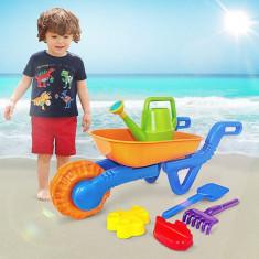Roaba cu accesorii pentru copii - Jucarie nisip