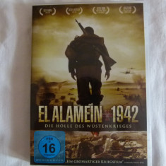 El Alamein 1942 - dvd - Film actiune Altele, Altele