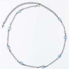 Colier cu 8 cristale swarovski tip fluture - Colier Swarovski