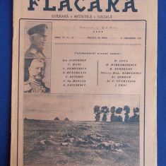REVISTA FLACARA * ANUL IV - NR.16 - 31 IANUARIE 1915 * GENERALUL HINDENBURG