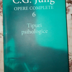 Tipuri psihologice  vol.6 opere complete an 2004/618pag- Jung
