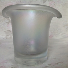 Vaza sticla Art Nouveau