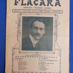 REVISTA FLACARA * ANUL III - NR. 15 - 25 IANUARIE 1914 * I.G. DUCA - Revista culturale