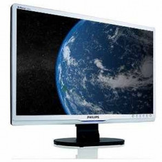 Monitor 22 inch LCD, Philips 220SW, Silver & Black - Monitor LCD