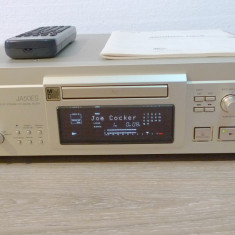 MiniDisc Sony MDS-JA50ES sampanie, accesorii, perfect functional, poze reale