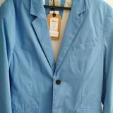 Sacou albastru deschis - Sacou barbati, Marime: 48, Culoare: Bleu