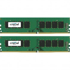 Memorie Crucial 32GB DDR4 2133 MHz CL15 Unbuffered Dual Channel Kit - Memorie RAM Crucial, Peste 16 GB