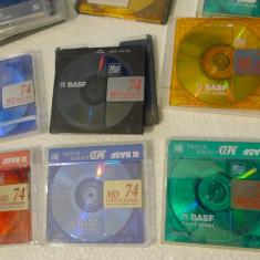 Minidiscuri Sony, TDK etc diverse modele, pret pentru 10 bucati - CD player