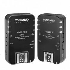 Yongnuo YN-622C II - set transceivere TTL pentru Canon, ca nou
