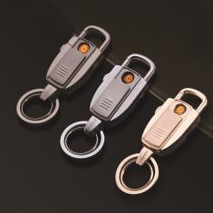 BRICHETA DIN CLASA LUX, HONEST CU INCARCARE USB, ELECTRONICA, BRELOC CHEI, LANTERNA. - Bricheta Cu Gaz