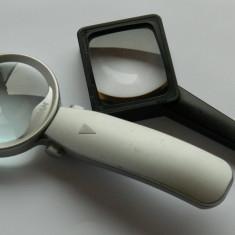 Doua lupe / lupa OSRAM si LUPA TIMBRE - Microscop