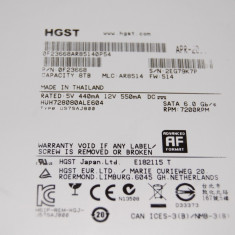Harddisk sata 8tb 128 buffer 7.2k heliu - Hard Disk HGST, Peste 2TB, Rotatii: 7200, SATA 3