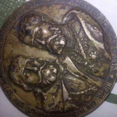 Medalie mircea cel mare si carol cel mare - Moneda Antica