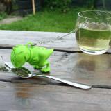 Infuzor / Filtru Ceai Dinozaurul T - Rex Din Silicon, Perfect Pentru Cadou