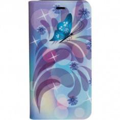 Husa Flip Cover Tellur Folio pentru iPhone 7 Butterfly 2