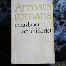 Armata romana in razboiul antihitlerist - Istorie