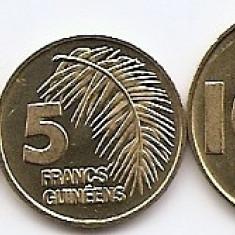 Guineea (Guinea) Set 3 - 1, 5, 10 Francs 1985 - UNC !!!, Africa