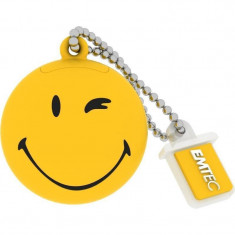 Memorie USB Emtec Smiley World Take it easy 8GB USB 2.0 Yellow - Stick USB
