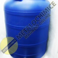 Butoi plastic cu robinet 250L - Putina cu canea