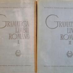 GRAMATICA LIMBII ROMANE, VOL.I-II, BUC.1966 - Carte in alte limbi straine