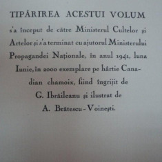 Poezii M.Eminescu, Editie ingrijita de G.Ibraileanu, ilustratii de A. Bratescu Voinesti - Carte de colectie