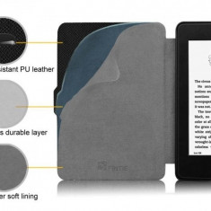 Husa Kindle Paperwhite ULTRA Slim + Folie | Noua | Inchidere Magnetica |