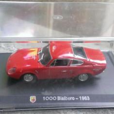 Macheta Fiat Abarth 1000 Bialbero 1963 - Altaya 1/43 - noua, in cutie, 1:43