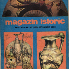 Revista MAGAZIN ISTORIC - nr. 10 (259)- octombrie 1988 - Revista culturale