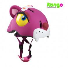 Casca protectie copii, animal – Vulpe – 3D