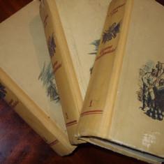 EPOPEEA SEVASTOPOLULUI ( 1955, 3 vol. cartonate, foarte rara, de colectie ) *