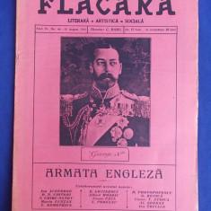 REVISTA FLACARA * ANUL IV - NR. 44 - 15 AUGUST 1915 * ARMATA ENGLEZA