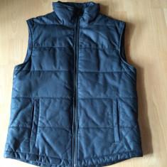 Vesta de piele Jack & Jones Premium - Vesta barbati, Marime: L, Culoare: Negru