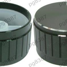 Buton pentru potentiometru, 34mm, aluminiu, 17x34mm - 127534