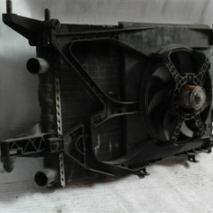 Radiator apa + electroventilator Opel Corsa C 1.0L / 1.2L / 1.4L An 2001-2005 cod 24445160 - Radiator racire