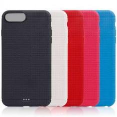 Husa Flexibila iPhone 7 Neagra - Sticker Telefon
